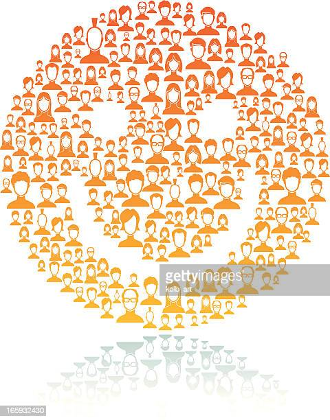 Smiley en réseau des utilisateurs