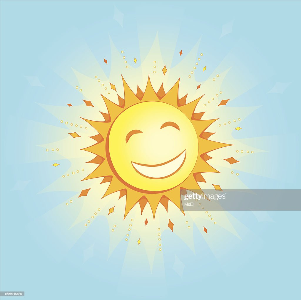 Smiling sun images - Smiling Sun Vector Art