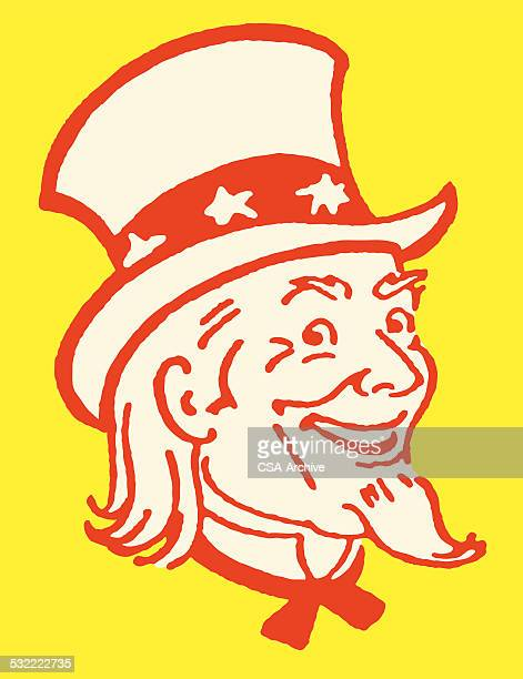Smiling Uncle Sam