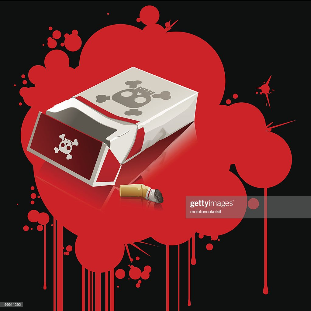 Smoke Kills (vector) : Vector Art