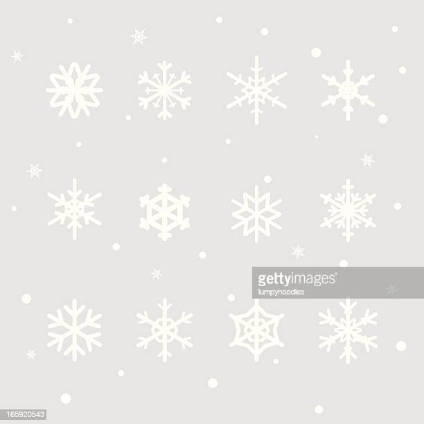 Snowflake Design Elements