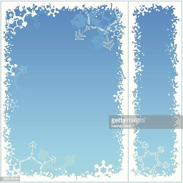 Snowflake frame 05