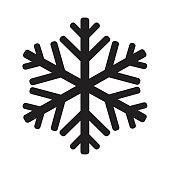 snowflake icon illustration design