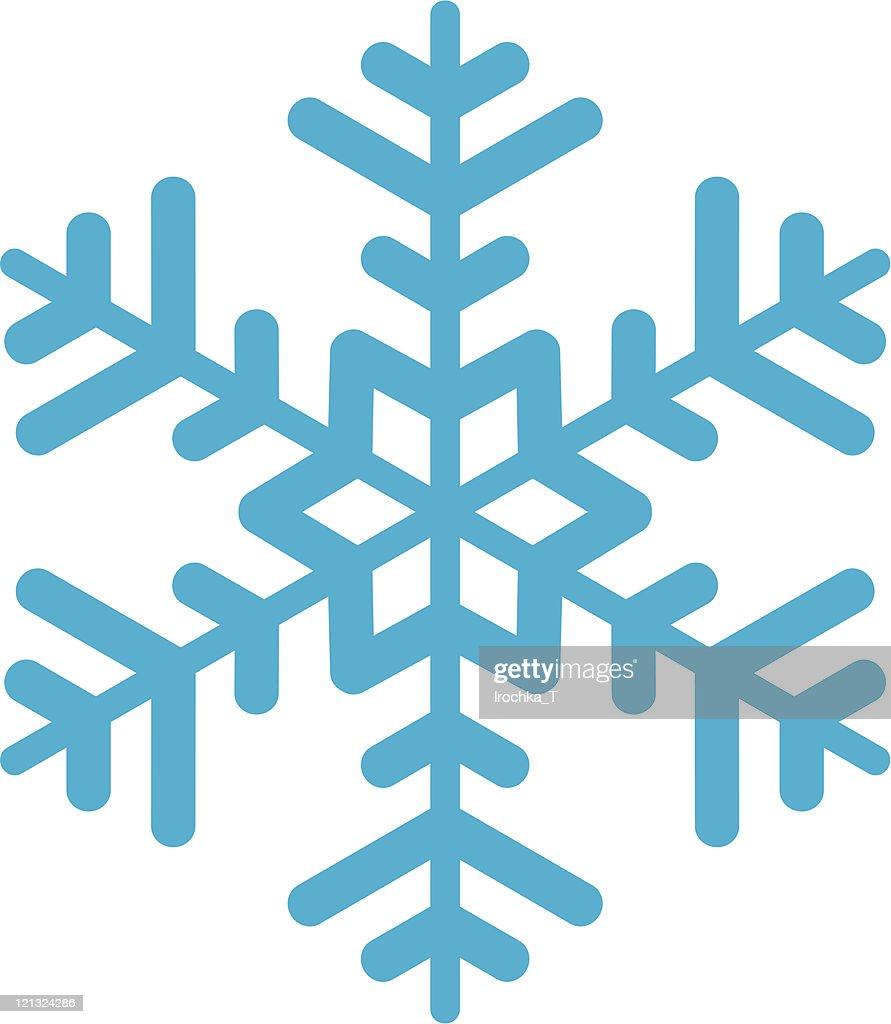 Snowflake. : Vector Art