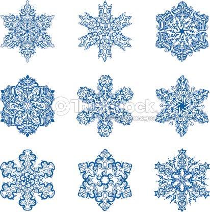 Copo de nieve arte vectorial thinkstock for Estrella de nieve