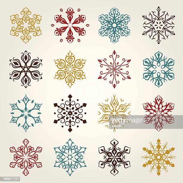 Snowflakes _ ornate