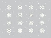 Snowflakes vector. Please see similar image