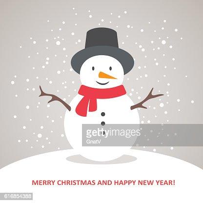 Snowman : Vector Art