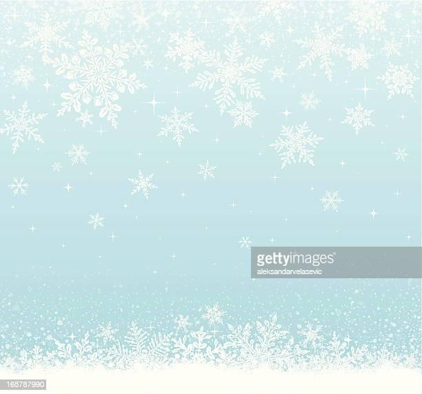 Fond neigeuse