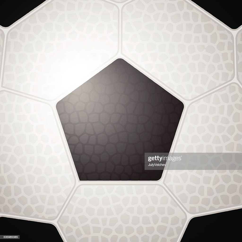 soccer ball background : Vector Art