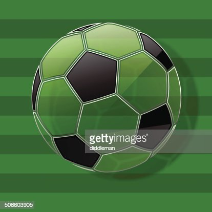 Soccer ball. Football background. Vector Eps10 : Vector Art