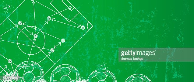Soccer / Football design template or background : stock vector