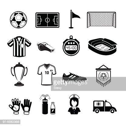 Soccer Icon Football Icon Vector Art Thinkstock