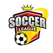 Football league icon design template