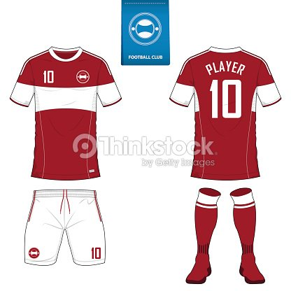 Soccer Kit Or Football Jersey Template For Club Short Sleeve Vector Id687715470s170667aw1007