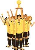 Soccer Team Trophy C