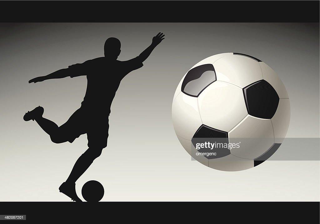 soccer : Vector Art
