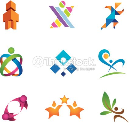 Social Community People In Motion Logo Template Vector Art Thinkstock