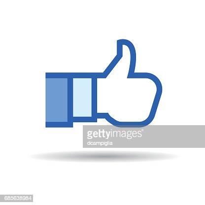 Social Like Icon : stock vector