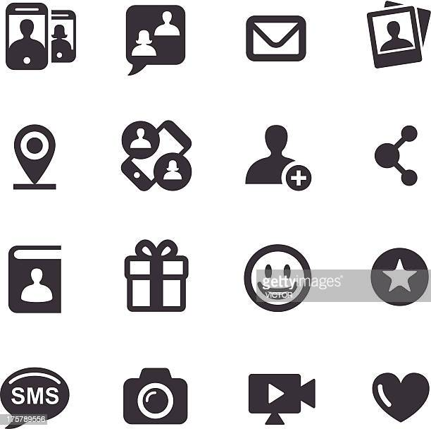 Social Media and Communication Icons - Acme Series
