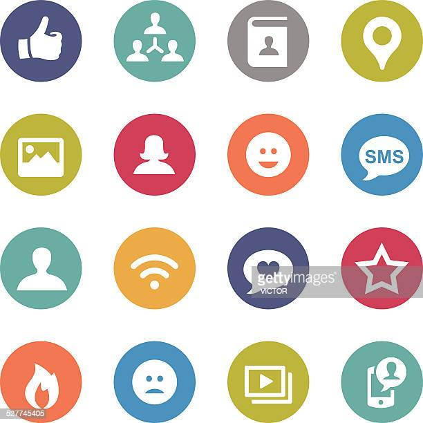 Social Media Icon - Circle Series