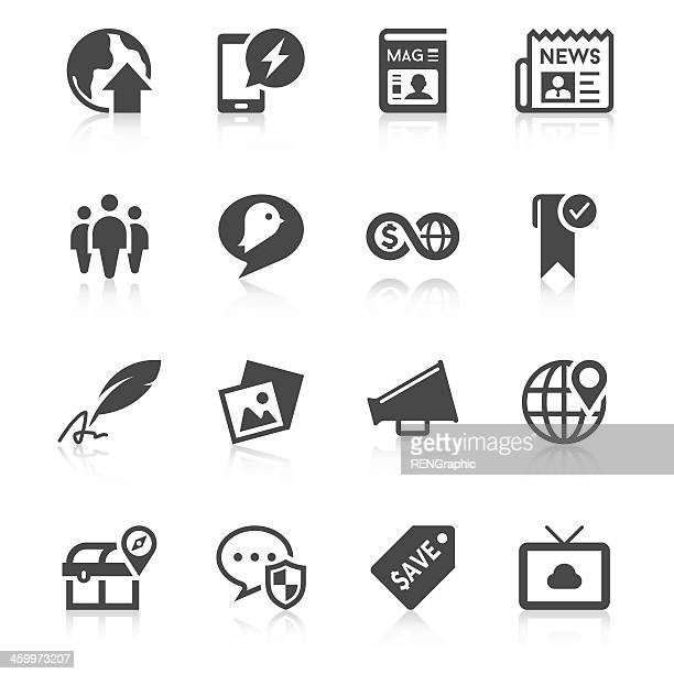 Social Media Icon Set | Unique Series