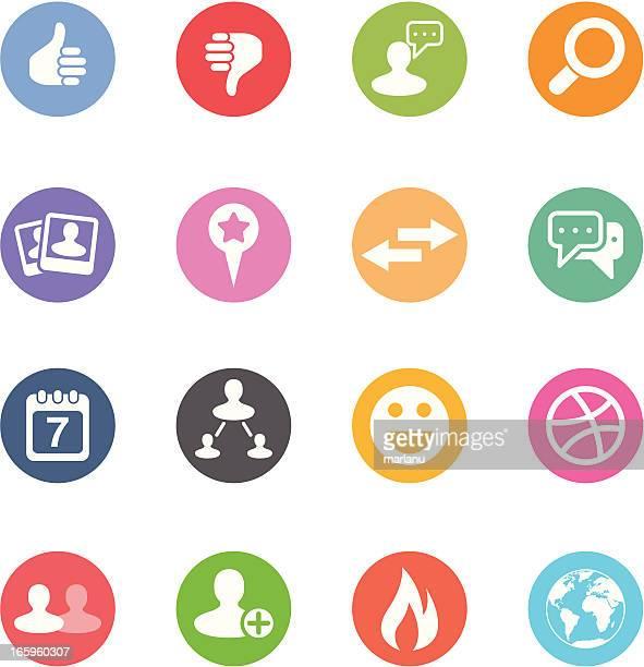 Social Media Icons | Set 2 - Circle