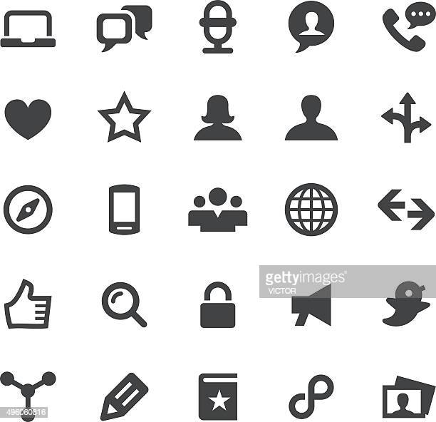 Social Media Icons Set - Smart Series