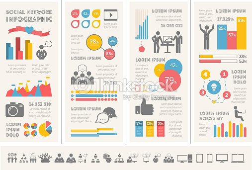 Social media infographic template vector art thinkstock social media infographic template vector art accmission Gallery