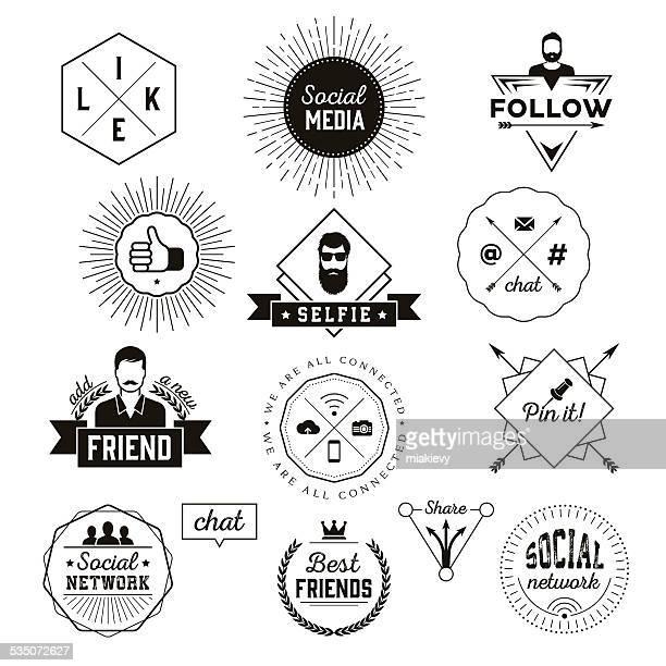 Etiquetas de medios sociales