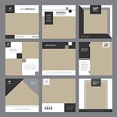 Social media furniture template post