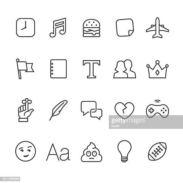 Social Networking vector icons