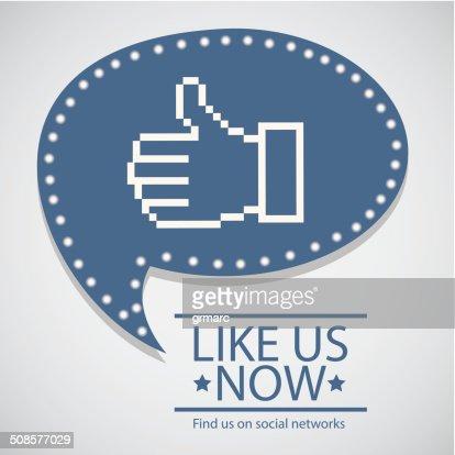 social network : Arte vettoriale