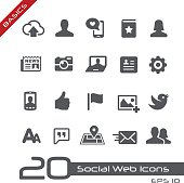 Vector icons for your website or software projects.