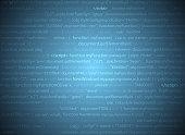 Javascript programming vector background
