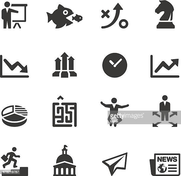 Soulico - Business strategy icons
