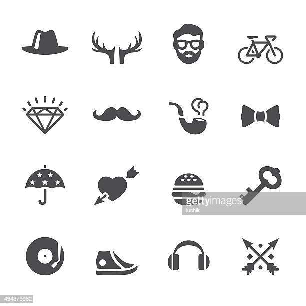 Soulico icons-Hipster-set