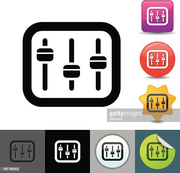 Sound mixer icon | solicosi series