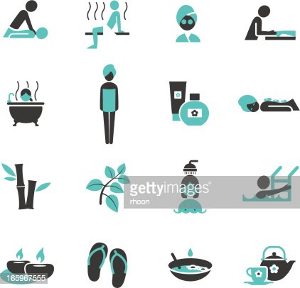 Wellness icon  Spa And Wellness Icons Vector Art | Getty Images