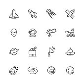 Astronomy - Space Icons