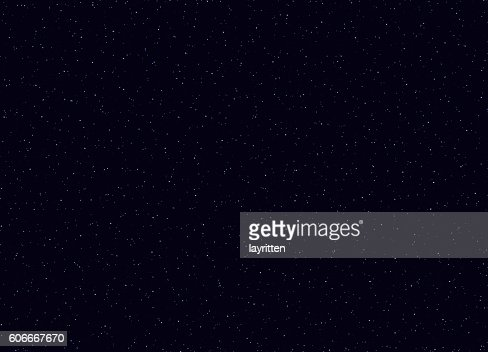 Space stars background vector illustration of The night sky. : Vector Art
