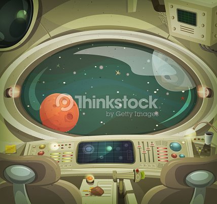 Int rieur du vaisseau spatial clipart vectoriel thinkstock for Interieur vaisseau spatial