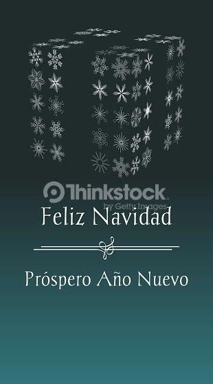 Spanish merry christmas and happy new year greeting card vector art spanish merry christmas and happy new year greeting card vector art m4hsunfo