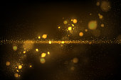 Vector eps 10 gold glitters abstract luxury background