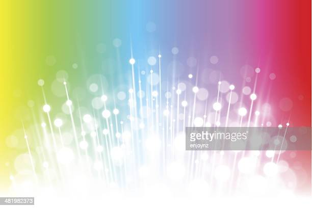 Sparkling rainbow background