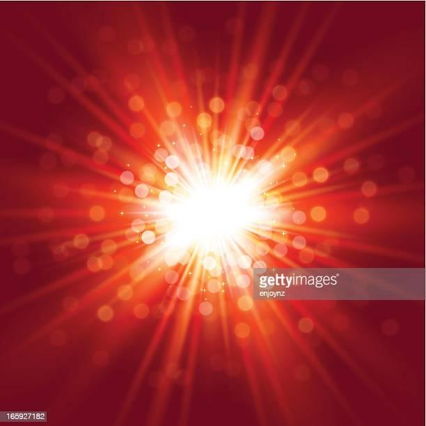 Sparkling red background