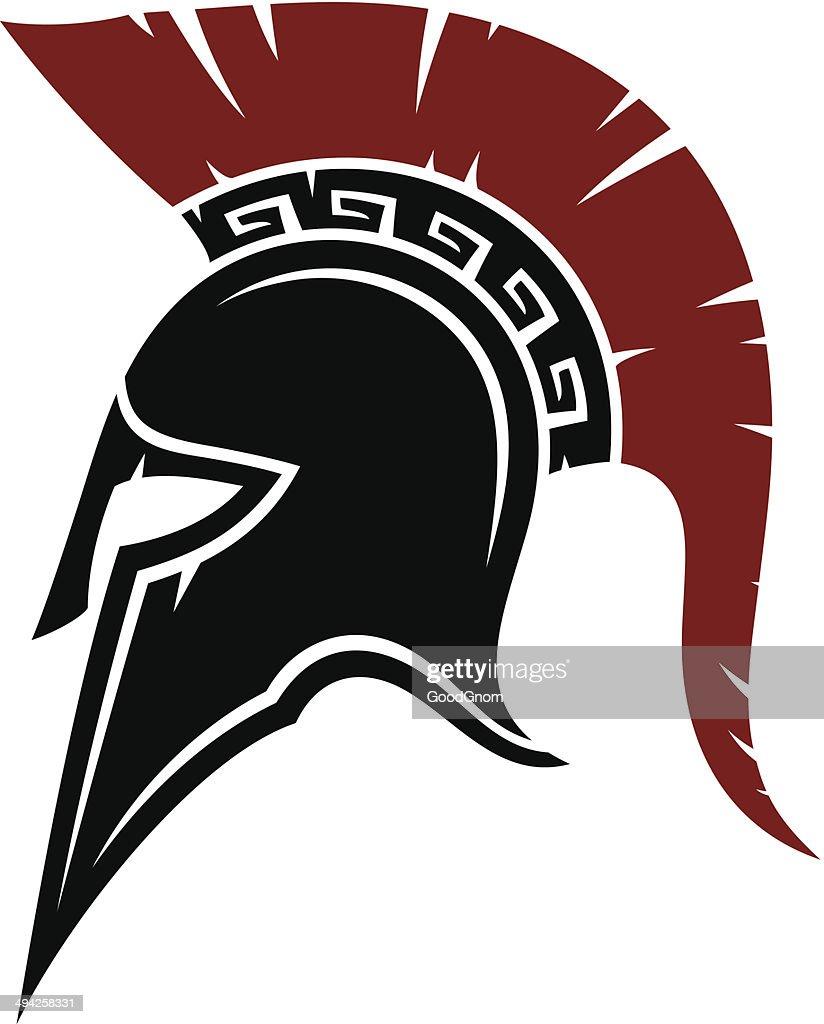 Spartan Helmet Vector ...