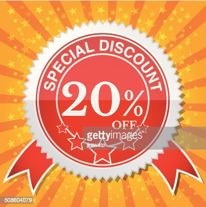 Special Discount 20% Off : Vector Art