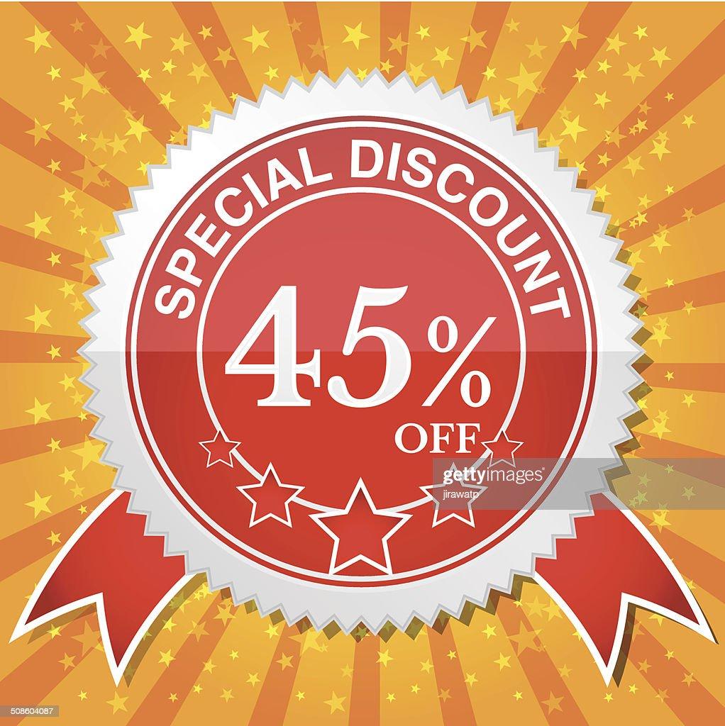 Special Discount 45% Off : Vector Art