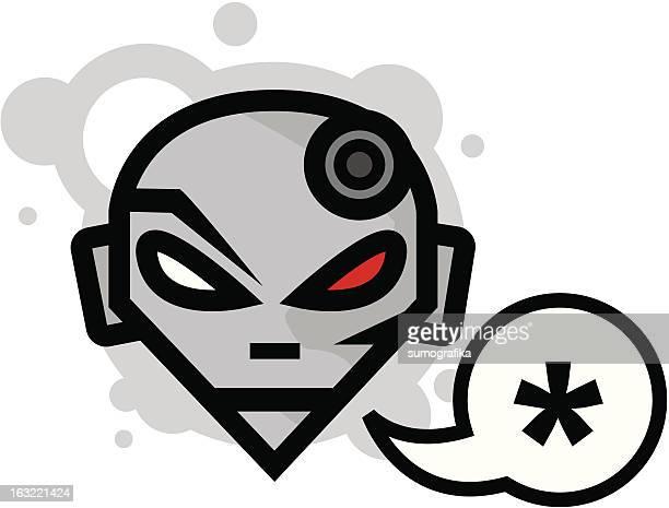 speech bubble vector head